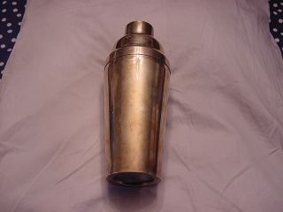 Vintage Sterling Silver Cocktail Shaker,  Older Beauty photo