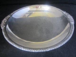 Vintage Epns Silver Plated Bon Bon / Sweet Meat Dish On Pedestal photo