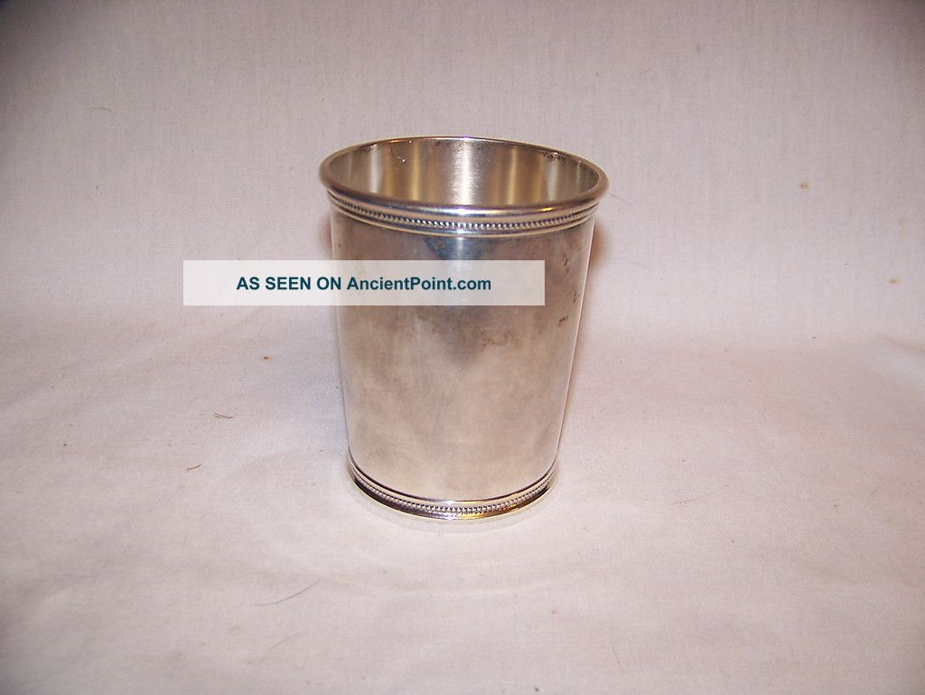 Wakefield Scearce Presidential Sterling Mint Julep Lbj Cups & Goblets photo