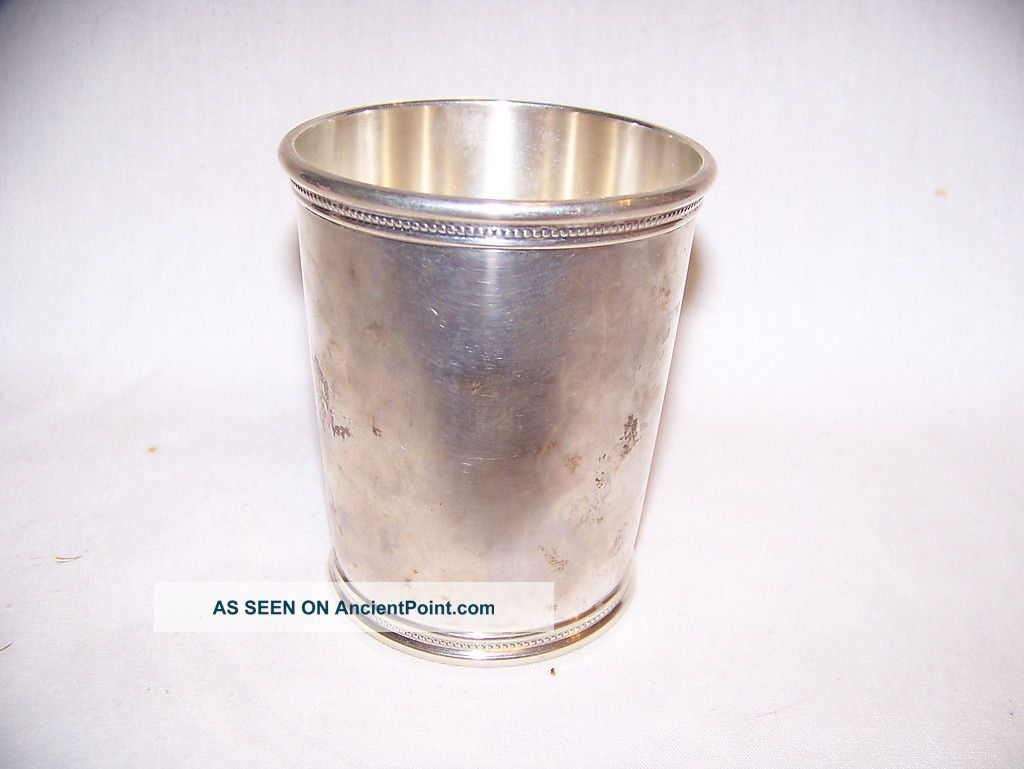 Wakefield Scearce Presidential Sterling Mint Julep Rmn Cups & Goblets photo