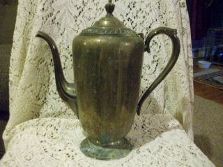 Avon Wm Rogers Coffee Pot - Unpolished photo