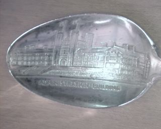 Sterling Silver 1904 Louisiana Purchase Exposition Souvenir Spoon photo