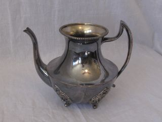 Colonial Silverplate Teapot photo