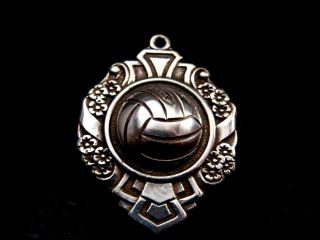 Unusual Rare Victorian Edwardian Football Shield Collectable Antique Watch Fob photo