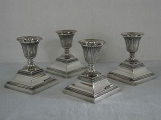 Vintage Gorham Silverplate Candlesticks - Set Of Four - photo