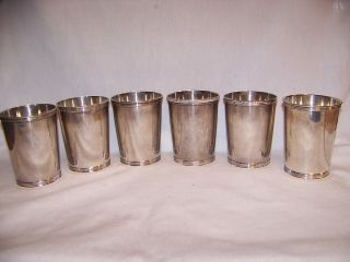 6 Manchester Sterling Mint Julep Cup 772 Grams No Scrap photo