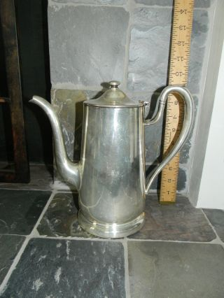 Victor S.  Co.  Silver Soldered Teapot/coffee Pot (48oz) photo