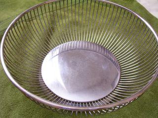 Gorham Vintage Ep Silver Plated Wire Bread/fruit Basket photo