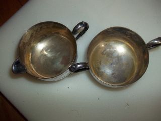 Vintage Empire Silver Company Creamer And Sugar. . . photo
