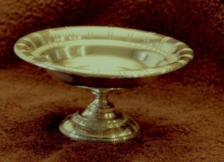 Sterling Silver Compote - Webster - 5.  2oz. photo