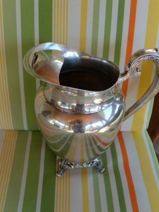 Vintage Oneida Ltd.  Pitcher - Silverplated - For Any Occasion photo