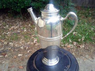Silverplate Vintage Silverplated Rose Marie 1847 Rogers Bros Tea/coffee Jug photo