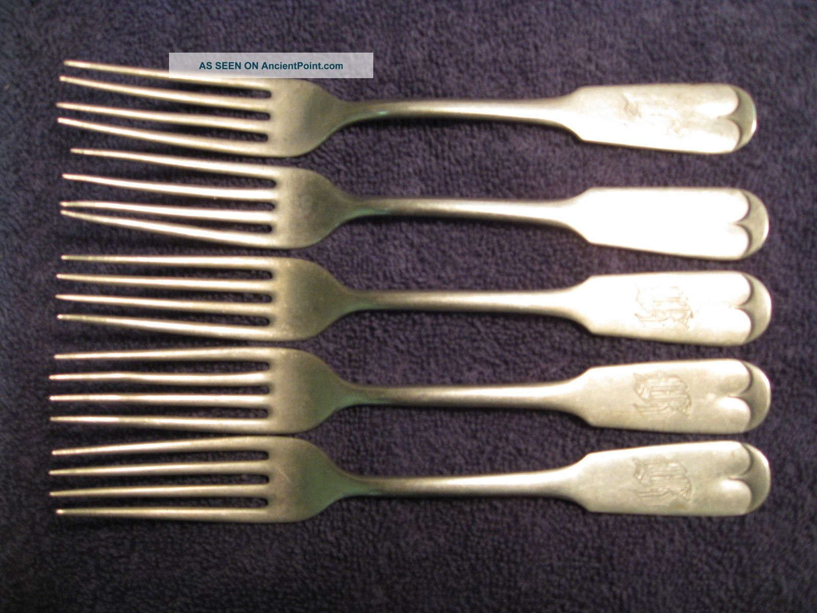 Vintage Brazil Silver Forks Other photo