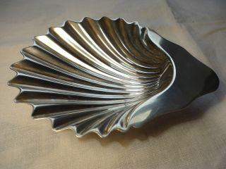 Silver Shell - Shaped Dish photo