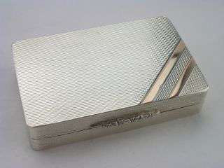 Stunning Gallagher ' S Silver Snuff Box - London 2003 Pjd photo