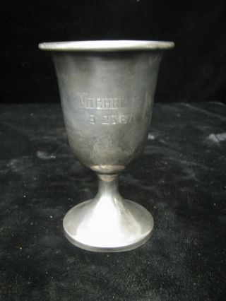 Crown Sterling Goblet Mono - Michelle 9 - 23 - 67 photo