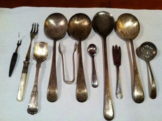 Vintage Silverware Silverplate,  Made In England.  11 photo