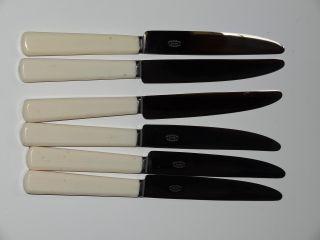 Epns Set Of 6 Knives Cutlery Mint Unused photo