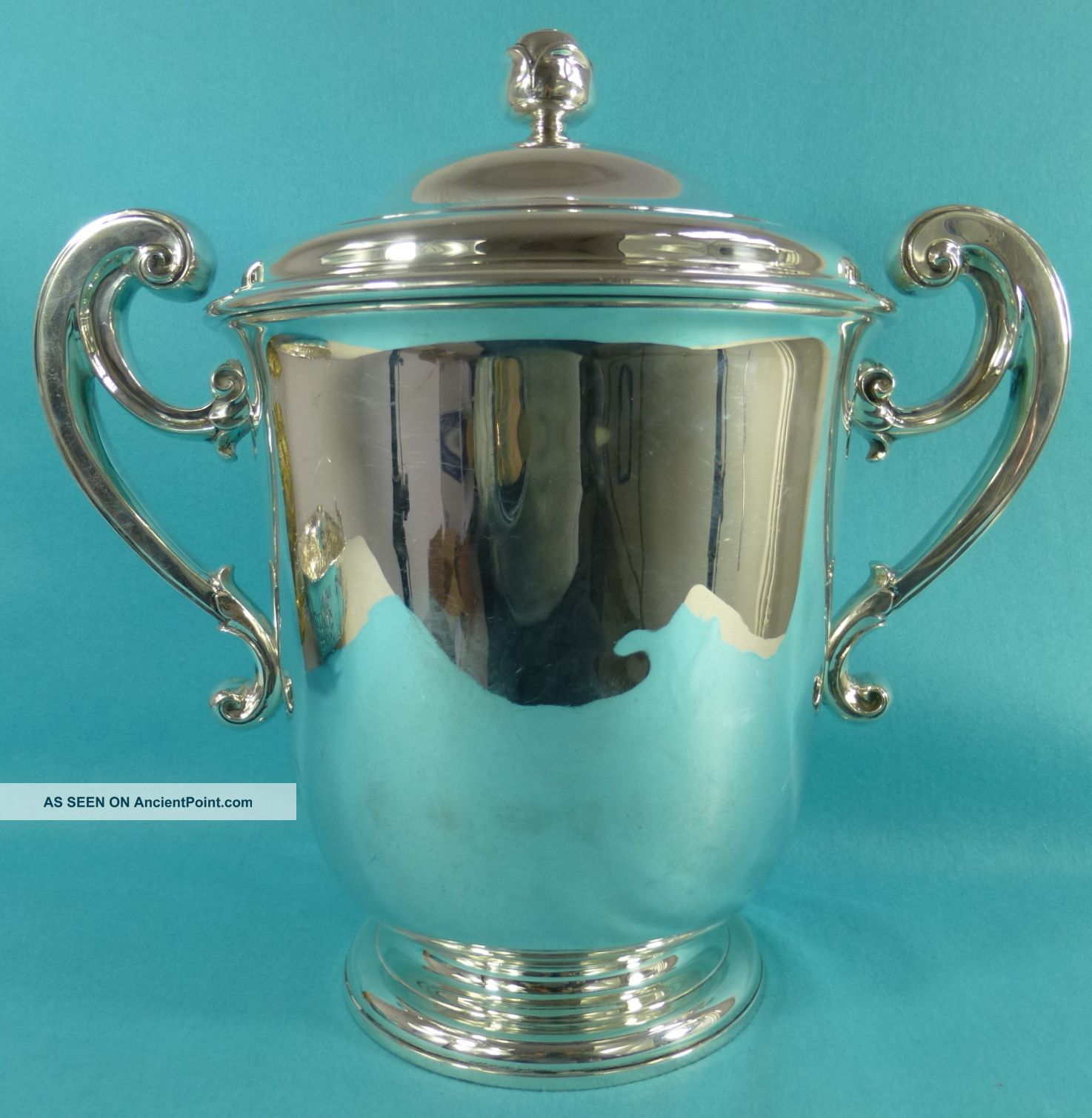 Magnificent Art Deco Sterling Silver Trophy Cup Huge 2294gms Richard Comyns 1936 Cups & Goblets photo