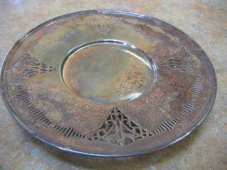 Antique Vintage Birks Epns Plate 9
