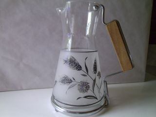 Vintage Glass Coffee Pitcher photo