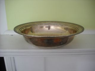 Vintage Sterling Silver Bowl - 190 Grams/ 6.  11 Troy Ounces photo
