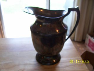 Empire Silver Company Silver Pitcher,  1 In photo