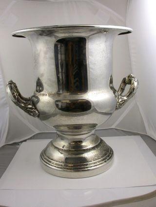 Vintage Kent Silversmiths Silverplate Champagne/wine Bucket photo