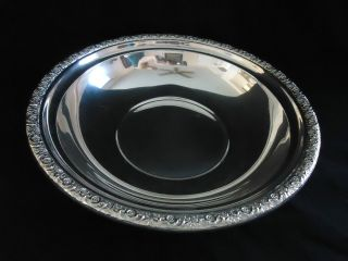 International Sterling Silver Prelude Serving Bowl Prelude D279 9 7/8