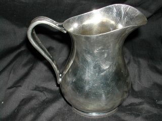 Silver Soldered Us Navy 16 Oz Pitcher photo