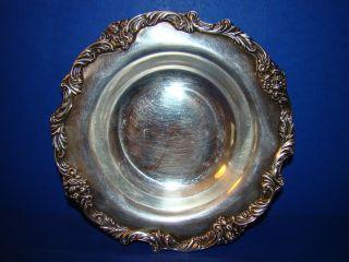 Reed & Barton Silverplate Bon - Bon Bowl In King Francis Pattern photo