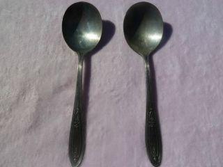 2 Peerless Silverplate