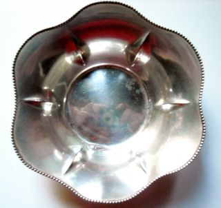 International Sterling Candy / Mint / Nut Dish / Bowl photo