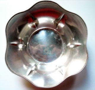 International Sterling Candy / Mint / Nut Dish / Bowl photo