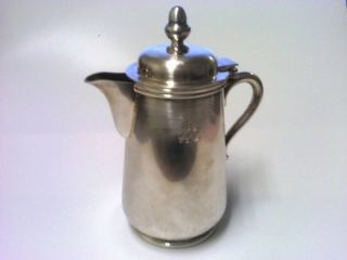 Vintage Dj Epns Japan Silver Plated Creamer Tea Pot Syrup photo
