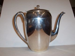 Silver Plate Keystone Coffee Pot photo