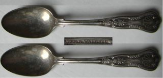 Wallace Two Teaspoons 5 7/8