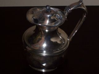 Very Rare C.  1840s Silverplate Teapot By William Batt & Sons Sheffield England photo