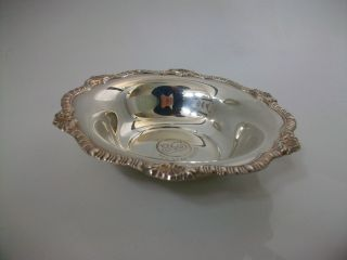 Attractive Silver Plated Dish S & Co A1 Plate England photo