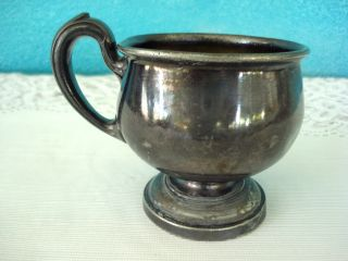 Antique 85+yrs Reed & Barton Silver / Silverplate Child ' S Cup Marked Jean Lovely photo