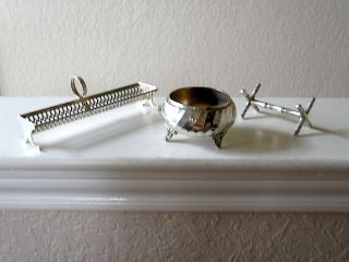 Small Silver Plate Items - Quite Useable - 1960 ' S - photo