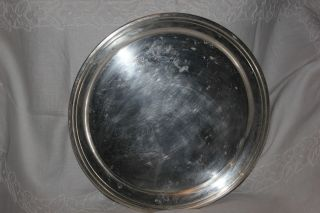 Preisner Silver Co.  Sterling Plate 13 Inches In Diameter photo