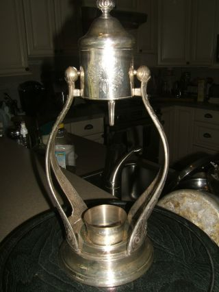 Gorham Silverplated Coffee Carafe,  Newport,  No Carafe photo