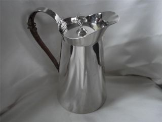 Stunning,  Antique Elkington & Co Silver Plated Wine Ewer / Water Jug Made 1885 photo