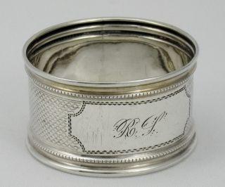 Sweet Engine - Turned Sterling Napkin Ring