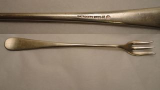 1847 Rogers Bros A1 Cocktail Fork - 1850 Windsor Patten photo