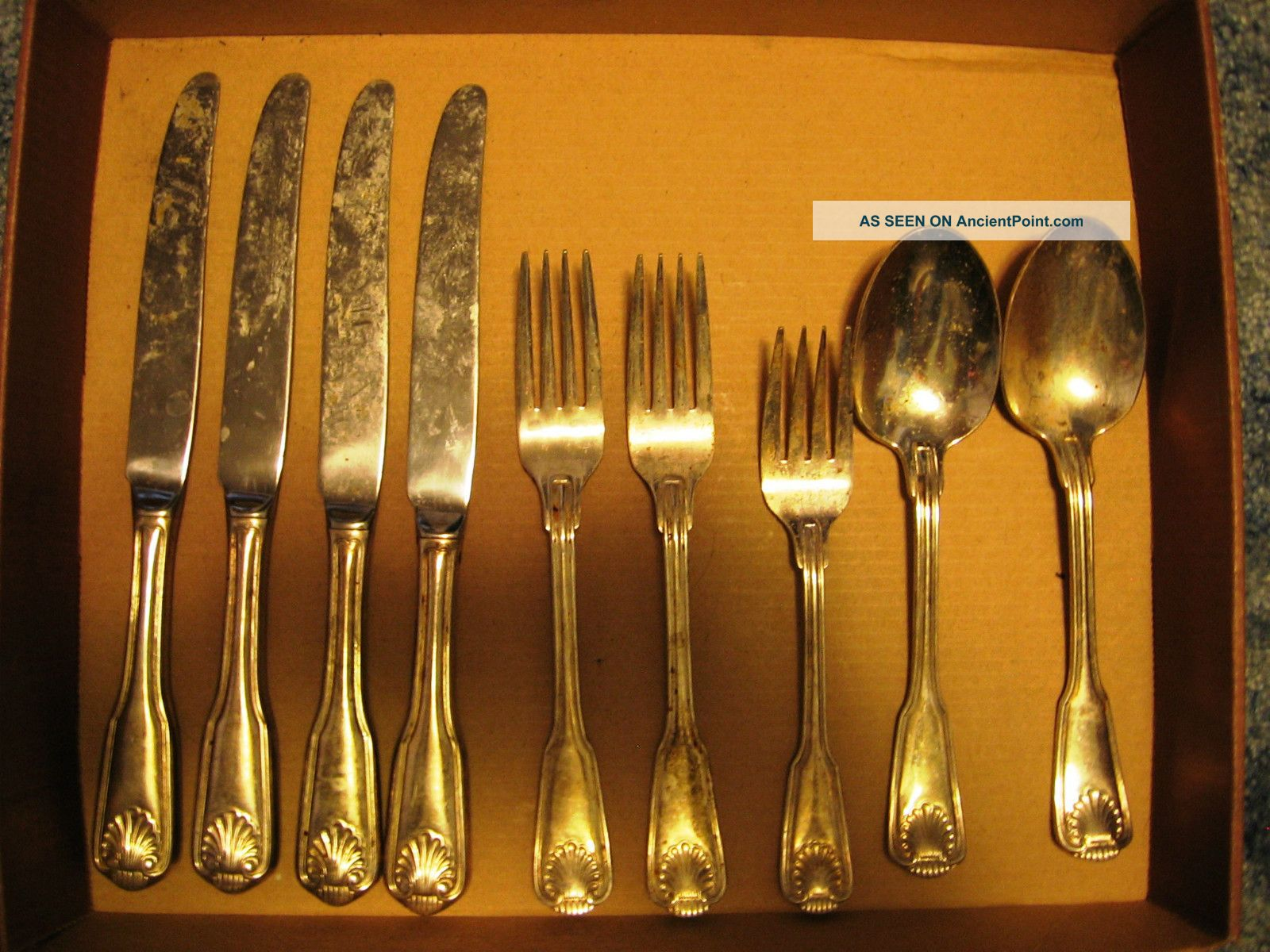 Olde Chelsea Korea Silverplate Flatware Spoons,  Knives,  Forks Other photo