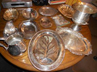 Miscellaneous Silver,  Homan,  Reed & Barton,  Wallace,  Castleton 19 Pcs photo