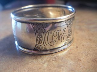Antique Roden (birks) Sterling Napkin Ring photo