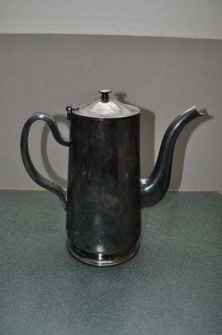 D.  W.  Harber & Son N.  Y.  Silver Plate 64 Oz Coffee Pot photo